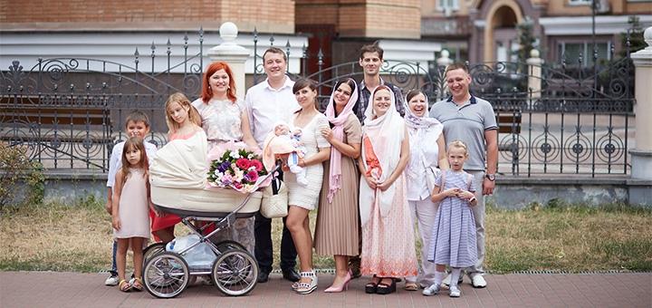Выездная фотосессия «Крестины» от профессионального фотографа Максима Головко