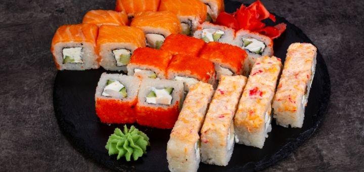 Скидка 50% на меню кухни, суши-бар и пиццу в ресторане «Mafia» на Левобережной