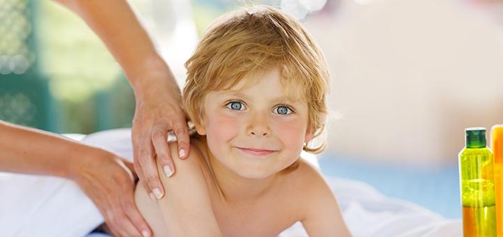 До 5 сеансов детского массажа в студии массажа «Чудеса прикосновений»