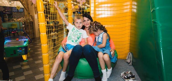 Знижка 50% на вхідний квиток в дитячий парк розваг «Планета мрій»