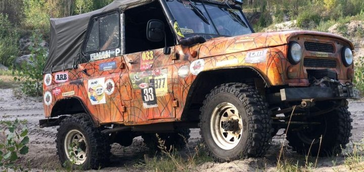 Скидка 64% на экстремальное вождение по лесу на внедорожниках от «Jeep extreme»