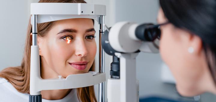 Диагностика синдрома «красного глаза» с консультацией офтальмолога в клинике «Центр Зору»
