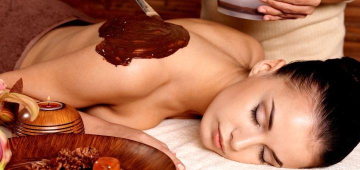 До 3 сеансов SPA-программы «Шоколадное искушение» с фито-бочкой в спа-салоне «Мажорель»