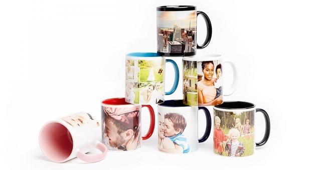 Чашки, футболки, подушки, пазлы с фотопечатью ваших изображений и надписей от студии «Flamingo»