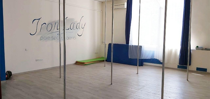 До 24 занятий танцами Pole dance, Exotic или стретчингом в студии танца «Iron Lady»