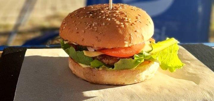 Скидка 50% на все меню кухни, бургеры и пиццу в бургер-баре «Burger ML»