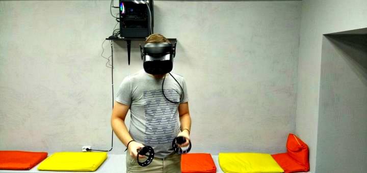 1 час или целый день игры в студии виртуальной реальности «Vega VR»