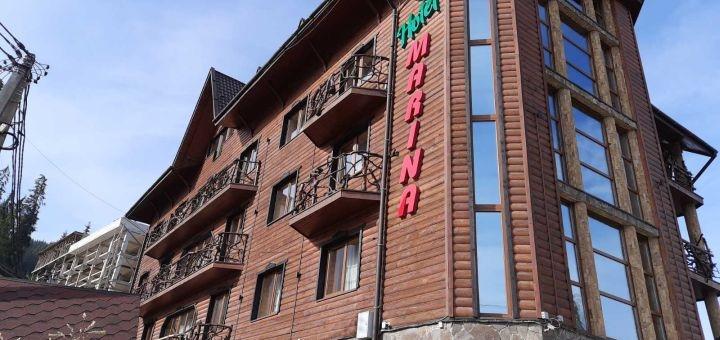 От 3 дней отдыха осенью и зимой с питанием в отеле «Марина» в Буковеле