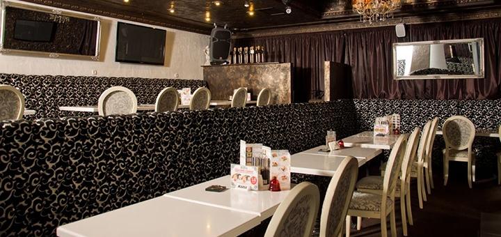 Скидка 50% на меню кухни в ресторане «Mafia»