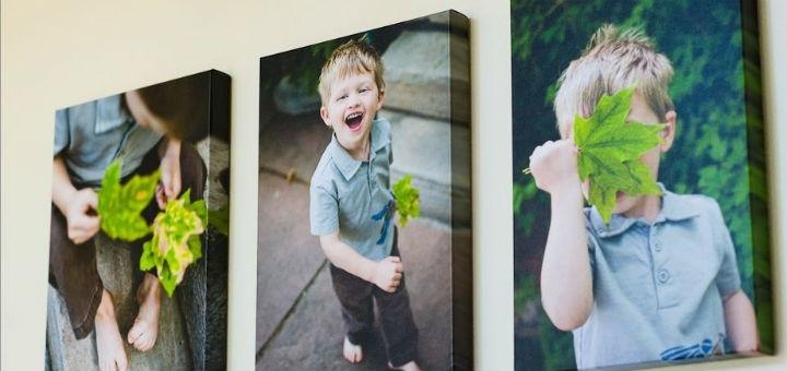 Печать изображений на круглом или овальном холсте от фотостудии «Fotokrapka»