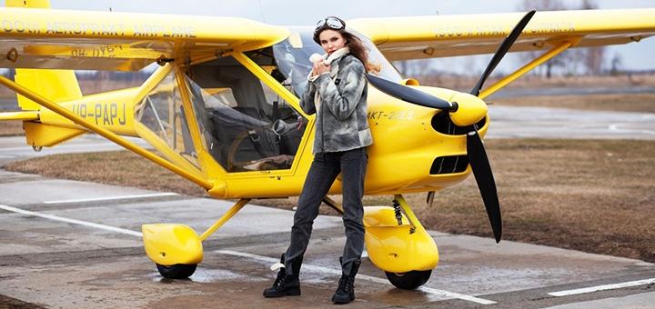 Скидка до 33% на ознакомительный полет на самолете «Аэропракт» от школы пилотов «Аeropractica»