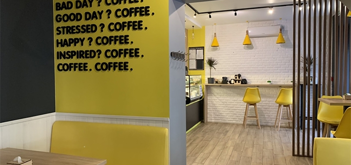 Скидка 50% на меню и напитки в кафе-кондитерской «Latteshka»