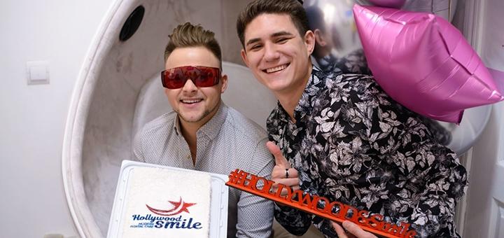 Скидка до 31% на лазерное отбеливание зубов в студии отбеливания зубов «Hollywood Smile Kiev»