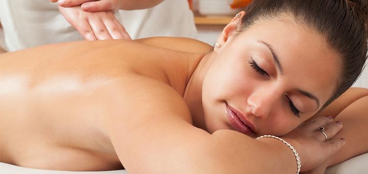 Скидка до 70% на массаж спины или комплексный массаж тела от косметолога Виктории Гордиенко