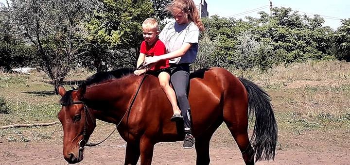 Скидка до 60% на прогулки на лошадях от конного клуба «Легион»