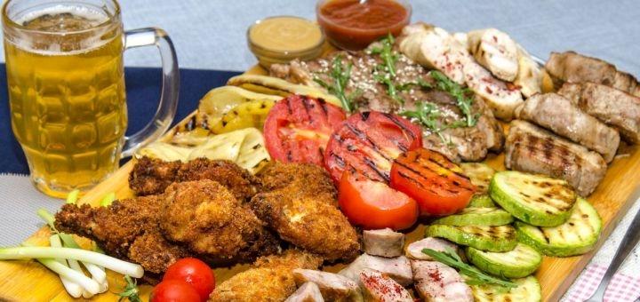 Скидка 50% на все меню кухни в кафе «Coop Fan»