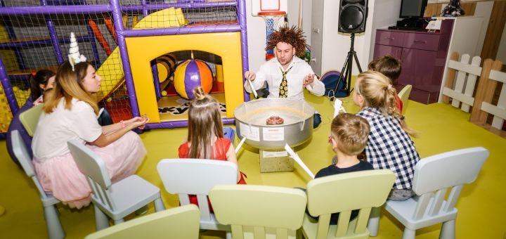 Знижка 50% на вхідний квиток на необмежений час перебування у дитячому парку розваг «Жу-жу»