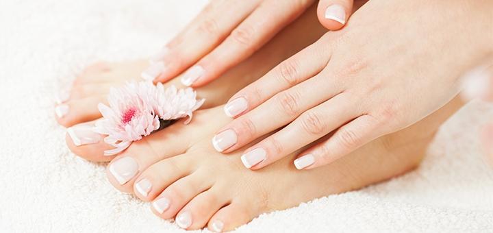 Скидка до 63% на медицинский педикюр, маникюр, лечение и восстановление ногтей