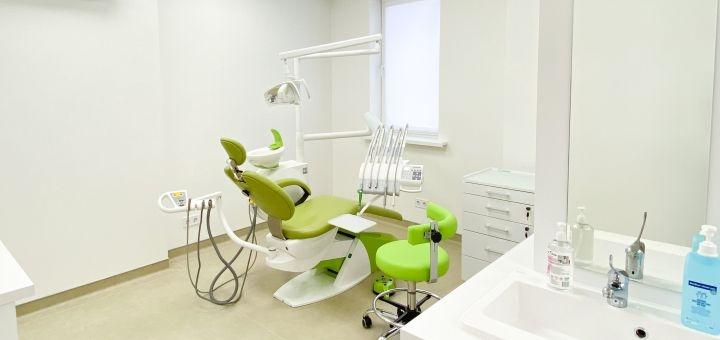 Ультразвуковая чистка зубов, Air-Flow и полировка в стоматологической клинике «Biodent»