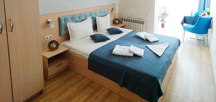 От 3 дней отдыха в апартаментах в апарт-отеле «Посейдон» на окраине Одессы