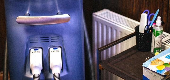 5 сеансов лазерной SHR-эпиляции и ELOS-эпиляции в сети салонов «Sun Shine»
