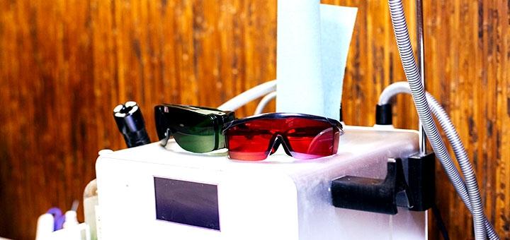 5 сеансов лазерной SHR-эпиляции и элос-эпиляции для мужчин в сети салонов «Sun Shine»