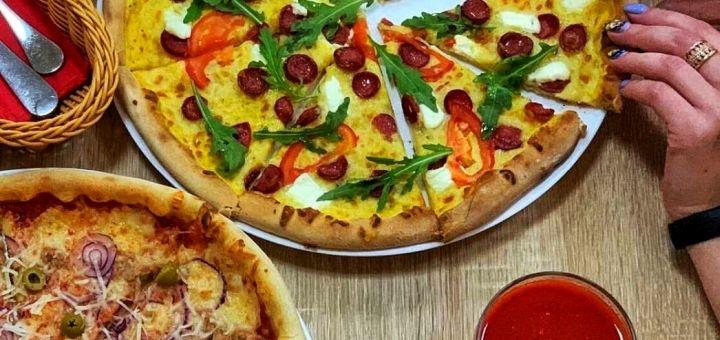 Скидка 50% на все меню кухни в пиццерии «Країна Мрій Pizza»