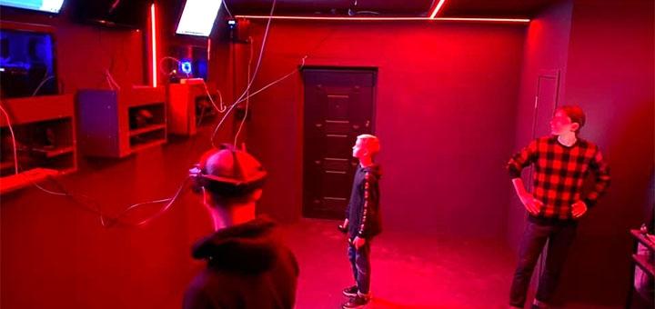 1 час игры в VR в клубе виртуальной реальности «ViRoom»