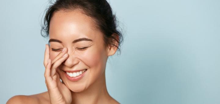 Скидка до 64% на чистку лица с уходом для кожи в салоне «Гламур»