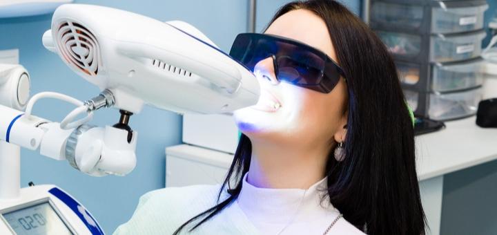 Скидка 57% на отбеливание зубов у стоматолога Армена Чилингаряна