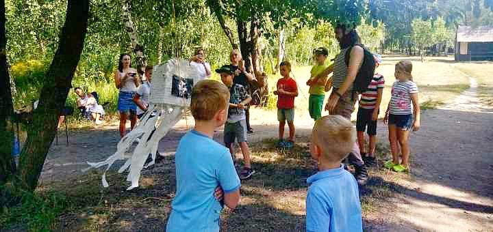 Квест для детей на открытом воздухе «Сокровища неизведанных земель» от «Игротерик»