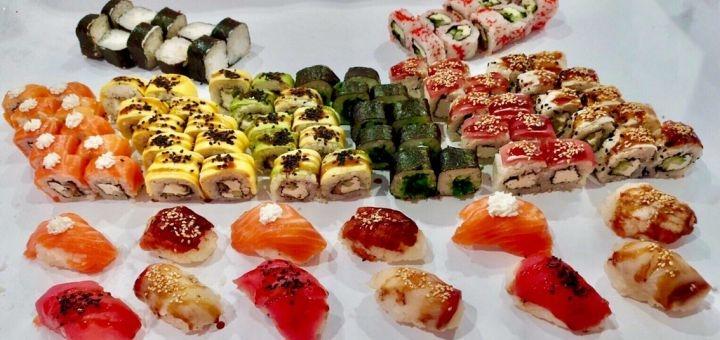 Скидка 50% на сет «Party boom» от суши-бара «Japanika»