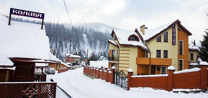 От 4 дней зимнего отдыха с питанием и посещением сауны в комплексе отдыха «Лилиана» в Славском