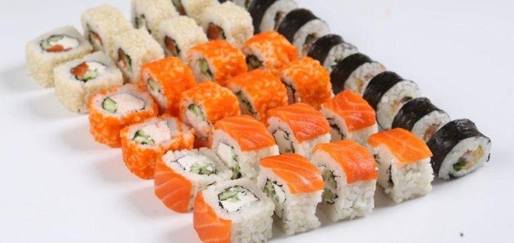Скидка 50% на сет «Банзай» от сети магазинов «Суши Сет»