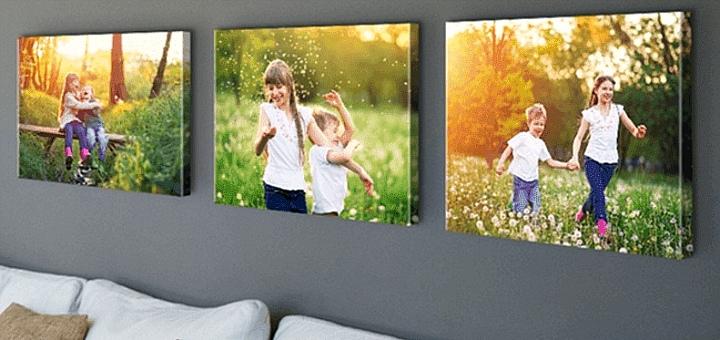 Печать изображений на обычном холсте от фотостудии «Fotokrapka»