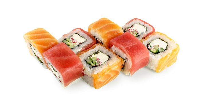 Скидка 50% на роллы и пиццу с самовывозом в суши-пицца-баре «Sushi Pizza Boutique»