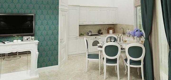 От 3 дней в апартаментах с видом на море или парк в «Apart Hotel Greenwood near Sea» в Одессе