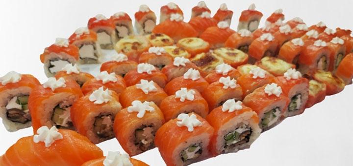 Скидка 50% на сет «Филадельфия XXL» от суши-бара «Japanika»