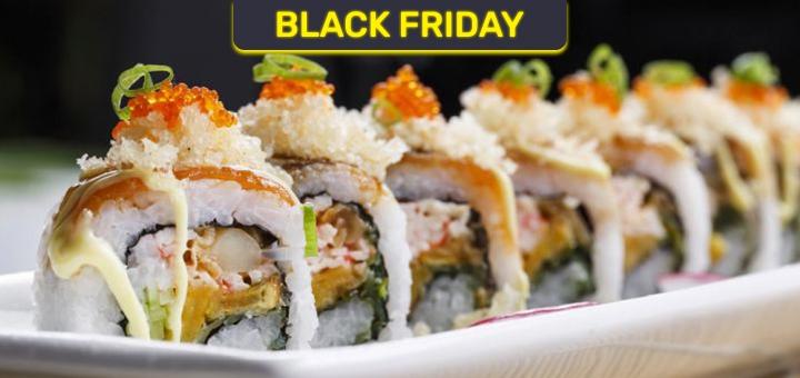 Скидка 55% на все меню суши, роллов и сетов от службы доставки «Sakura»