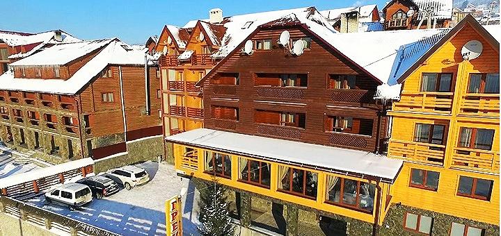 От 3 дней отдыха во второй половине декабря с завтраками в отеле «Греку» в Буковеле