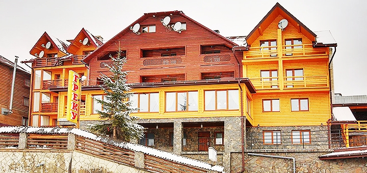 От 3 дней отдыха с завтраками в отеле «Греку» в Буковеле