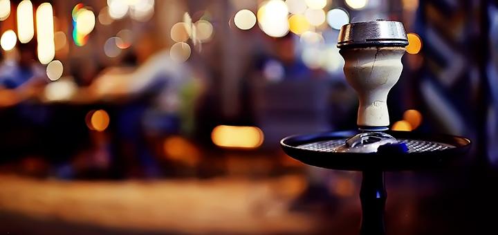 Кальян с джин-тоником, ром-колой, виски-колой или чаем в баре «Морфий»