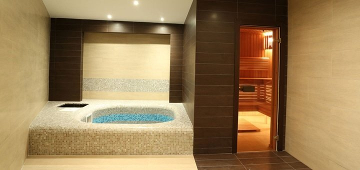2 или 3 часа для компании до 8 человек в «Соляном зале» или «Гидрозале» в «Aroma Sauna»!