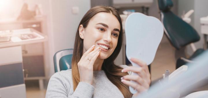 Профессиональная ультразвуковая и Air-Flow чистка зубов в стоматологии «Implant Start»