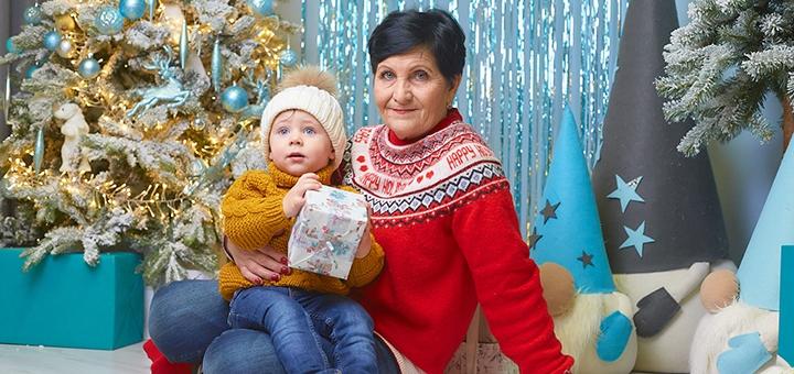 Выездная «Новогодняя» фотосессия от профессионального фотографа Максима Головко