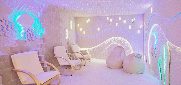 Скидка 50% на посещение для ребенка или взрослого соляной пещеры «Польzа»