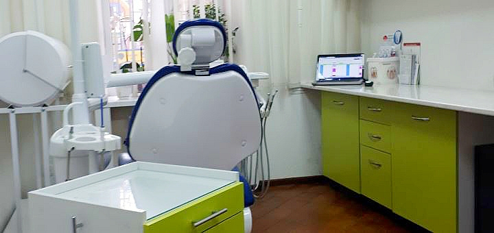 Лечение кариеса с установкой пломбы в клинике «Медпроф»