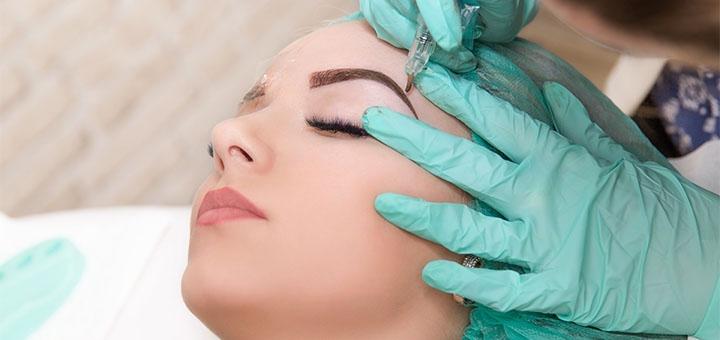 Перманентный макияж губ, бровей и межресничка от косметолога Тригонис Ирины