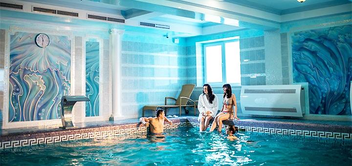 От 3 дней отдыха с завтраками и SPA в отеле «Киевская Русь» 4* в Сходнице