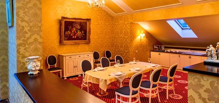 От 3 дней отдыха с двухразовым питанием и SPA в отеле «Киевская Русь» 4* в Сходнице